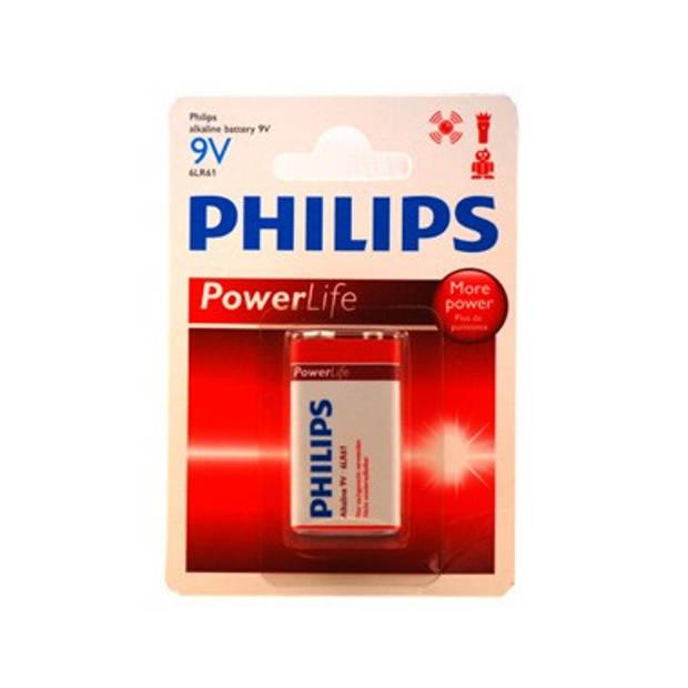 1 X 9v Batterij Philips