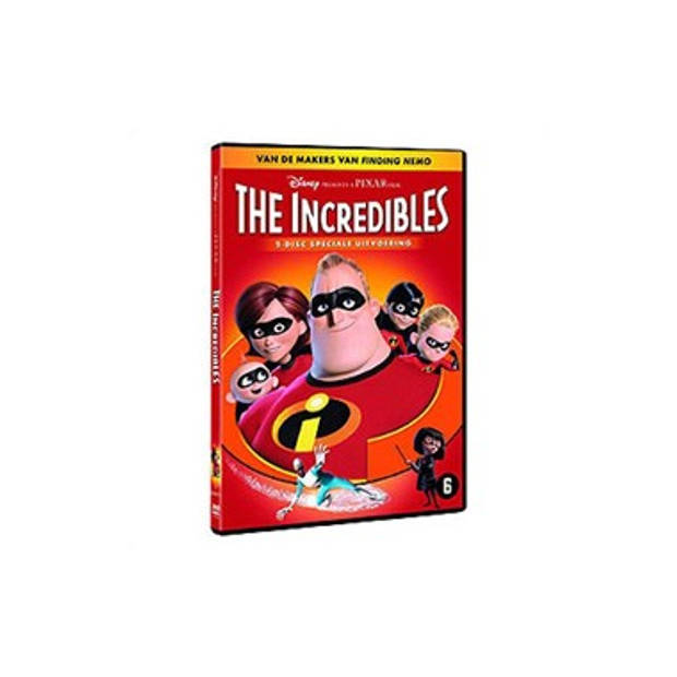 Dvd The Incredibles - 2 Disc