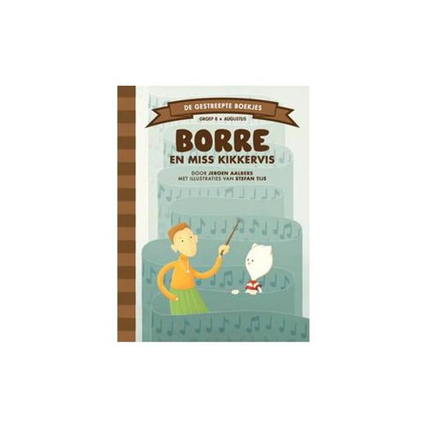 Borre En Miss Kikkervis - De Gestreepte Boekjes