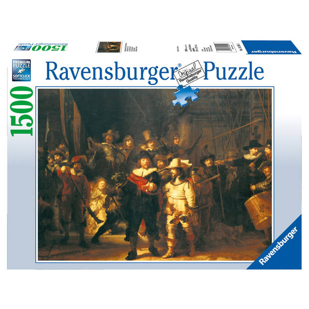 Ravensburger puzzel De Nachtwacht - 1500 stukjes