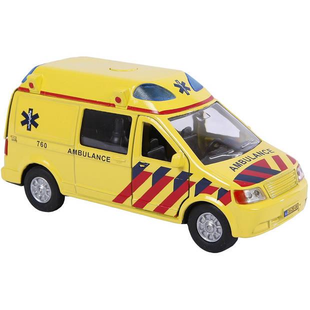 Ambulance auto met licht/geluid