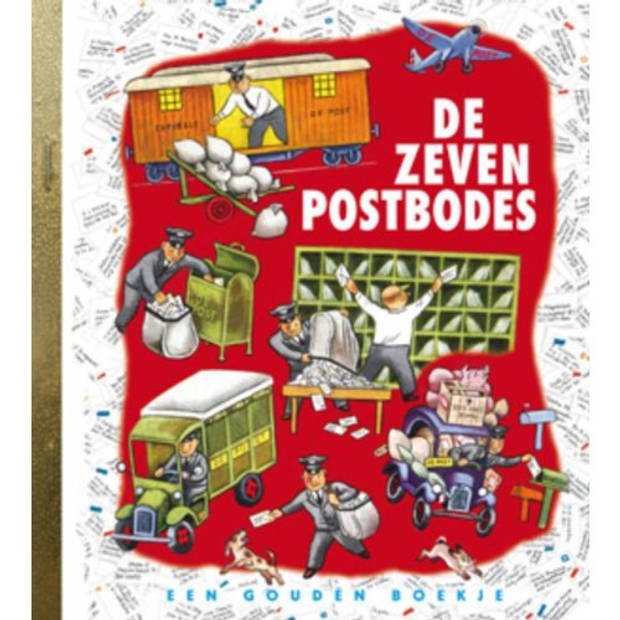 De Zeven Postbodes - Gouden Boekjes