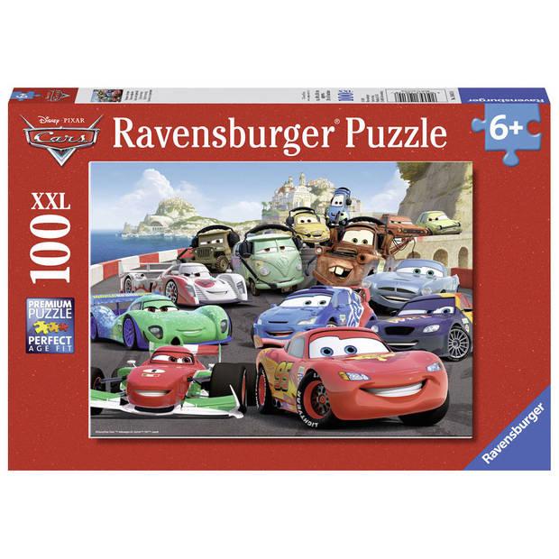 Ravensburger puzzel Disney Cars 2 explosieve race - 100 stukjes