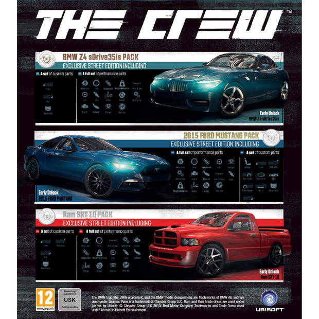PC DVD The Crew