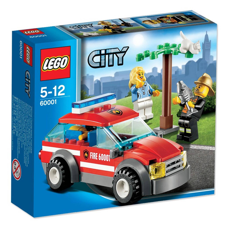 LEGO City Brandweercommandant 60001