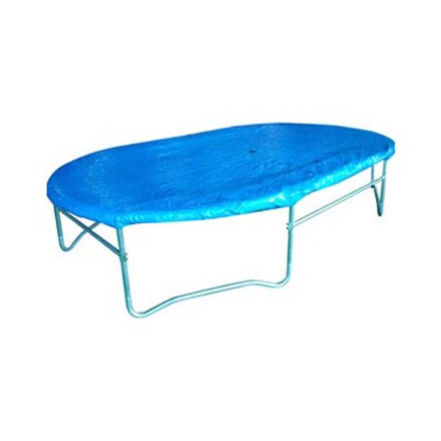 Game on Sport trampolinehoes ovaal - 423 x 244 cm - groen