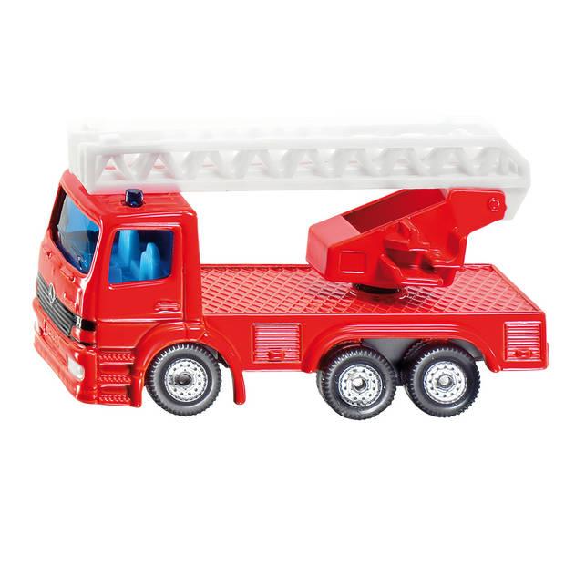 1015 Siku Brandweerladderwagen