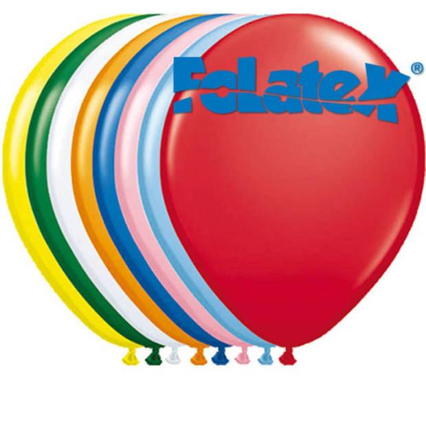 Ballonnen set meerkleurig - 10 stuks