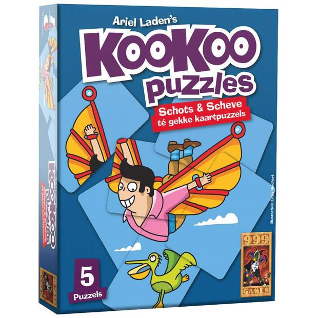 Kookoo puzzel vliegen - 24 stukjes