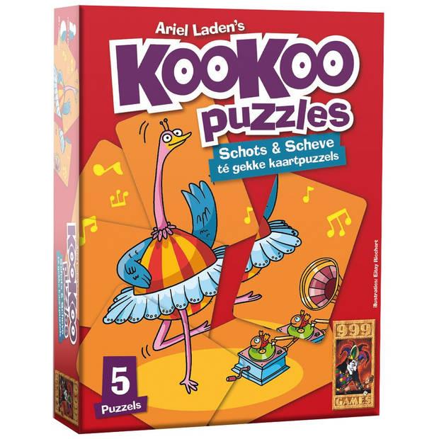 Kookoo puzzel dansen - 24 stukjes