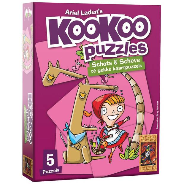 Kookoo puzzel sprookjes - 24 stukjes
