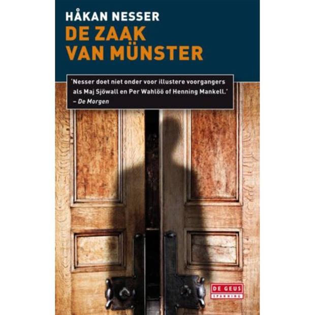 De Zaak Van Münster - Van Veeteren-Reeks