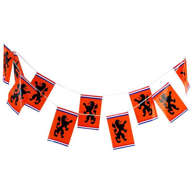 Oranje Vlaggenlijn 9 meter