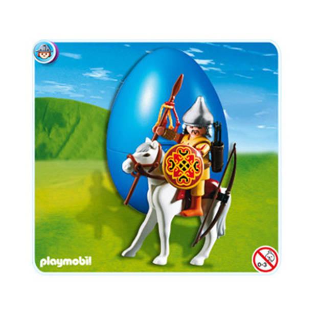 Mongoolse Krijger Te Paard Ei