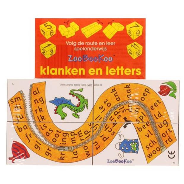 Klanken en letters - ZooBooKoo kubusboek