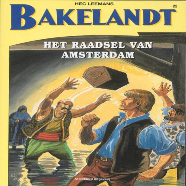 Het raadsel van Amsterdam - Bakelandt