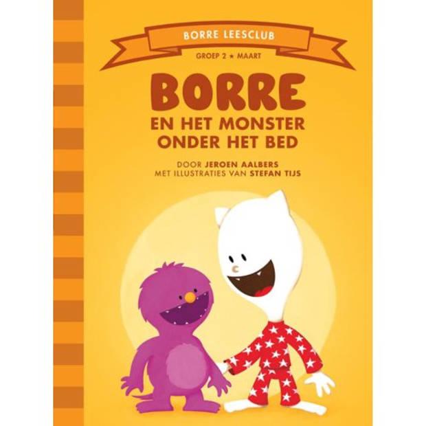 Borre En Het Monster Onder Het Bed - De Gestreepte