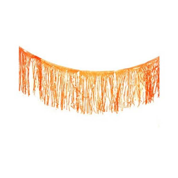 Franje vlaggenlijn - 10 meter - oranje