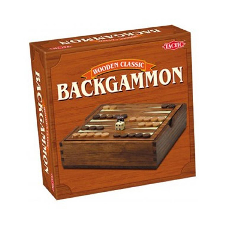Backgammon In Houten Box