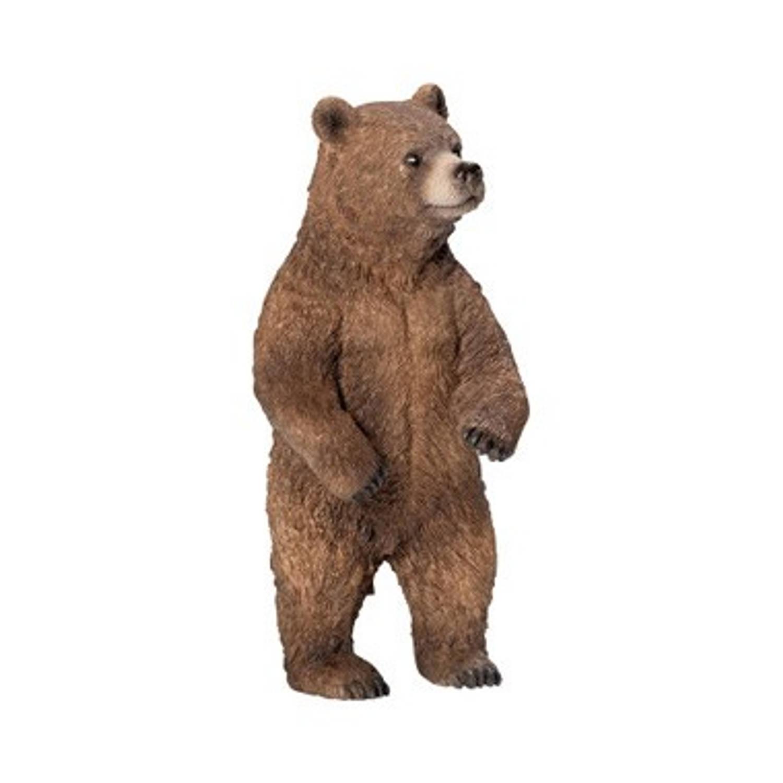 Schleich staande grizzlybeer