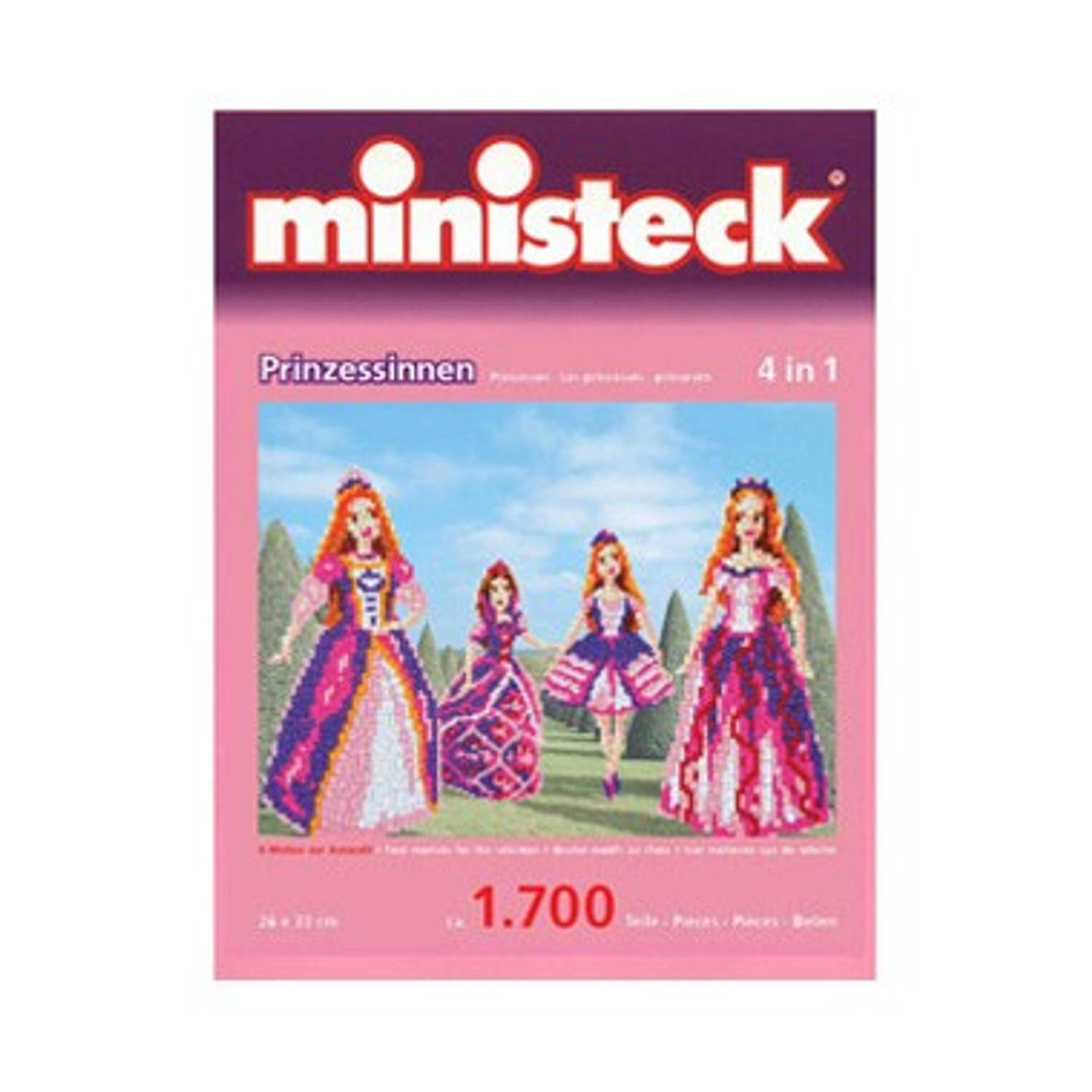 Ministeck Prinsessen 4-in-1