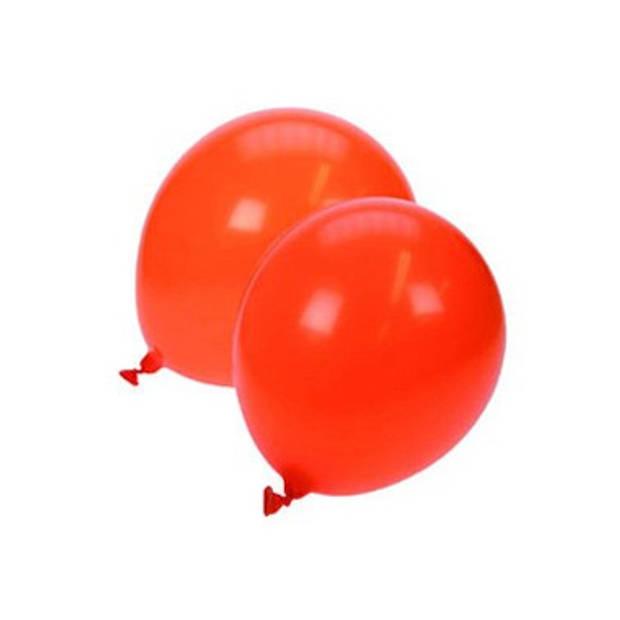 Oranje ballonnen - 23 cm - 25 stuks