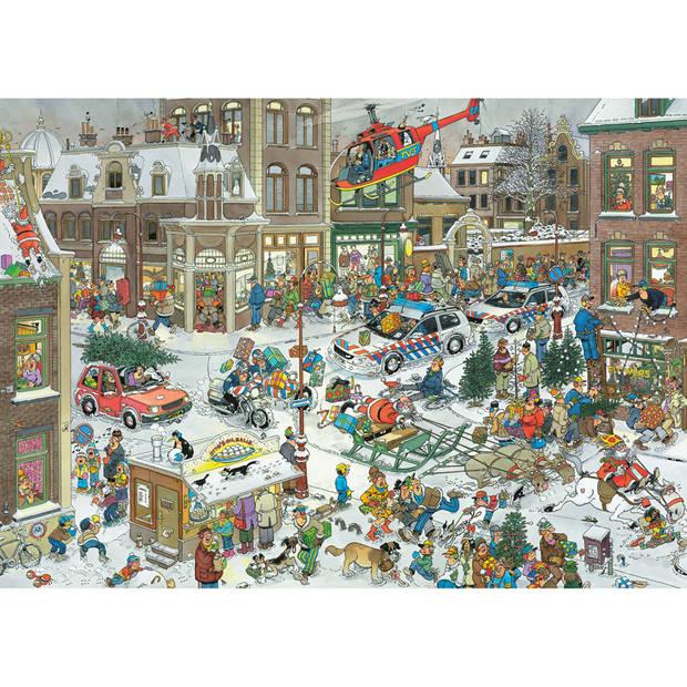Jumbo legpuzzel Jan van Haasteren Kerstmis 1000 stukjes
