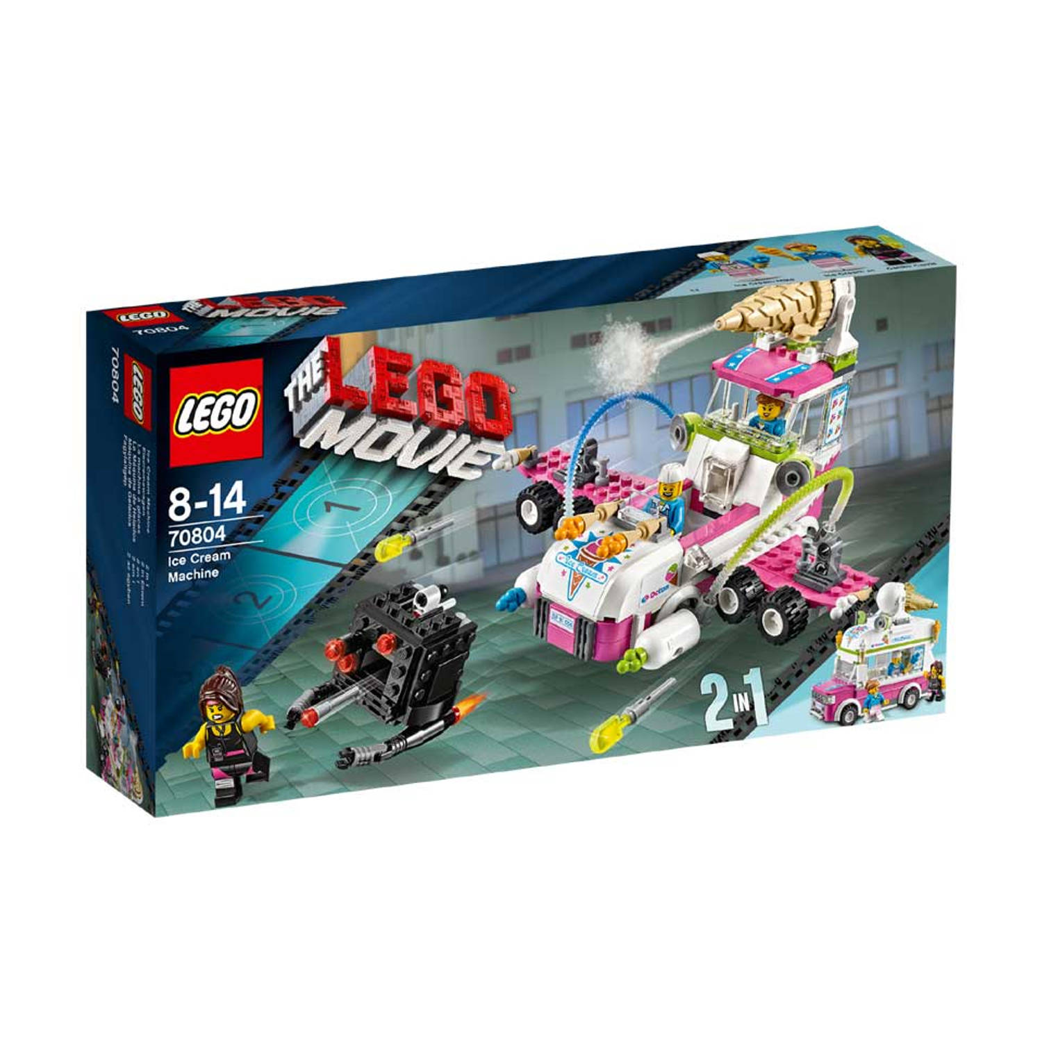 LEGO 70804 MOVIE IJSMACHINE