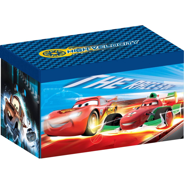 Disney Cars speelgoedbox - canvas