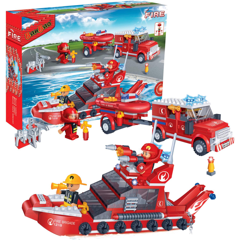 Afbeelding van BanBao brandweerboot 8312