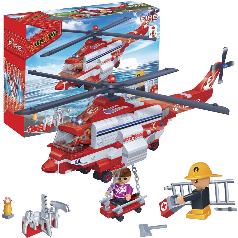Afbeelding van BanBao brandweerhelikopter 8315