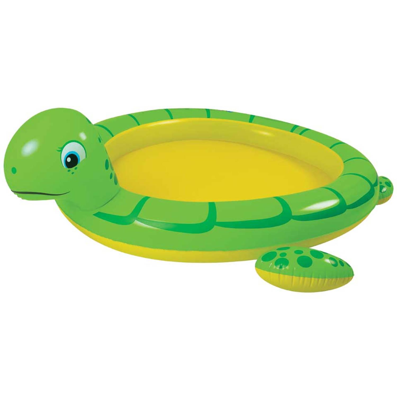Afbeelding van Kinderzwembad reuzenschildpad met sproeier