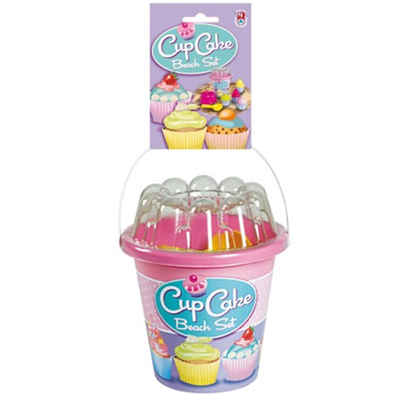 Afbeelding van Cupcake gevulde emmerset