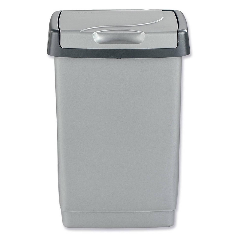 Brabantia Touch Bin 50 Liter Blokker.Curver Click It Afvalbak 50 L