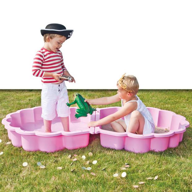Zwembad/Zandbak schelp (roze)
