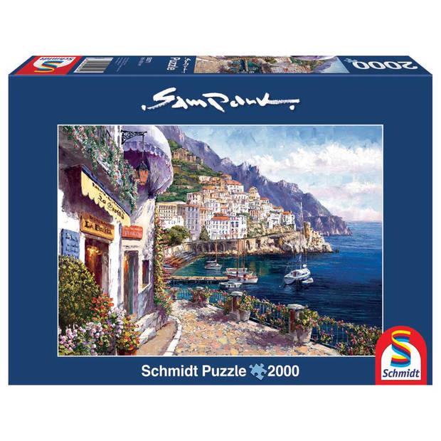 Schmidt puzzel Afternoon in Amalfi - 2000 stukjes