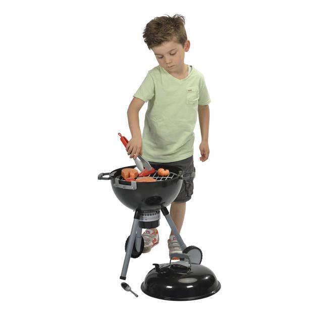Kinder Weber mini speelgoed barbecue met licht en geluid