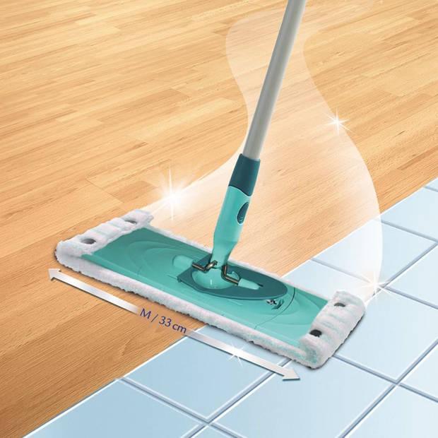 Leifheit Mopdoek Clean Twist/Combi Micro Duo wit M 55320