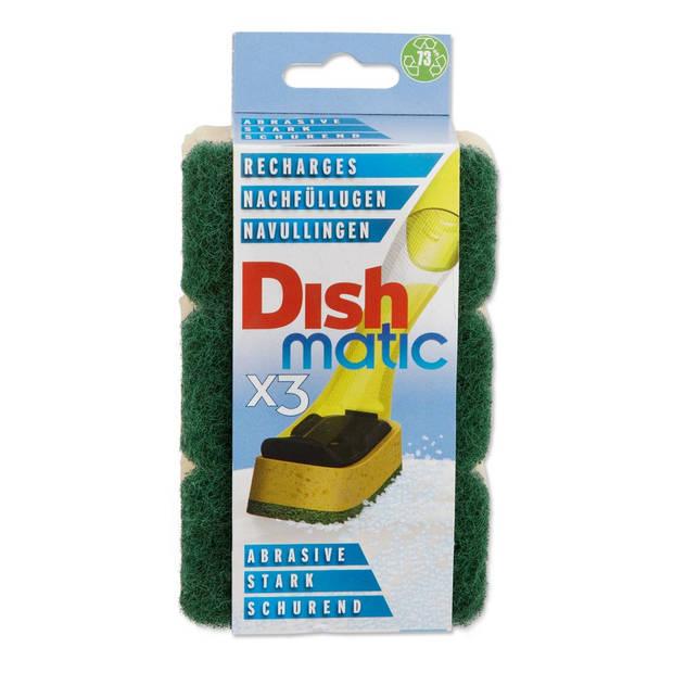 Dishmatic Easy-do RF schuursponzen groen 3 stuks