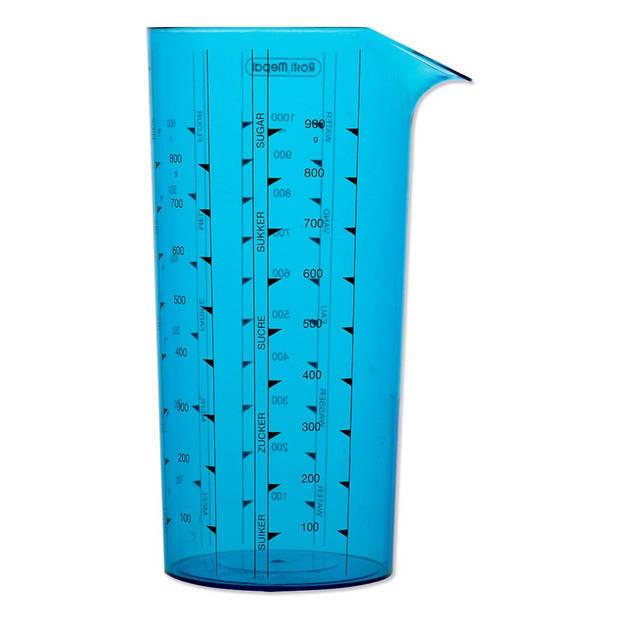 Mepal Maatbeker - Blauw 1l