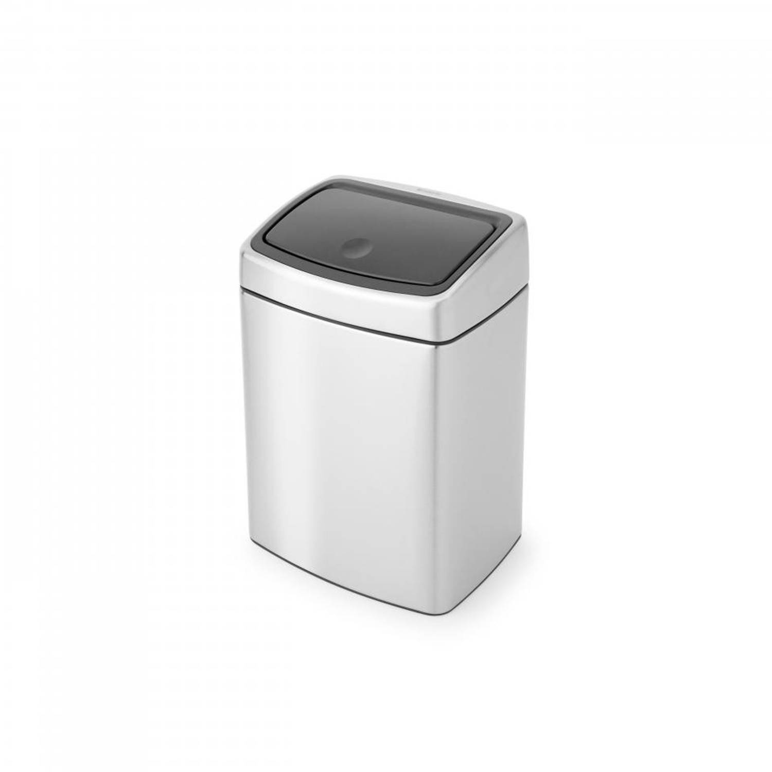Brabantia Touch Bin 10 l - Matt Steel Fingerprint Proof