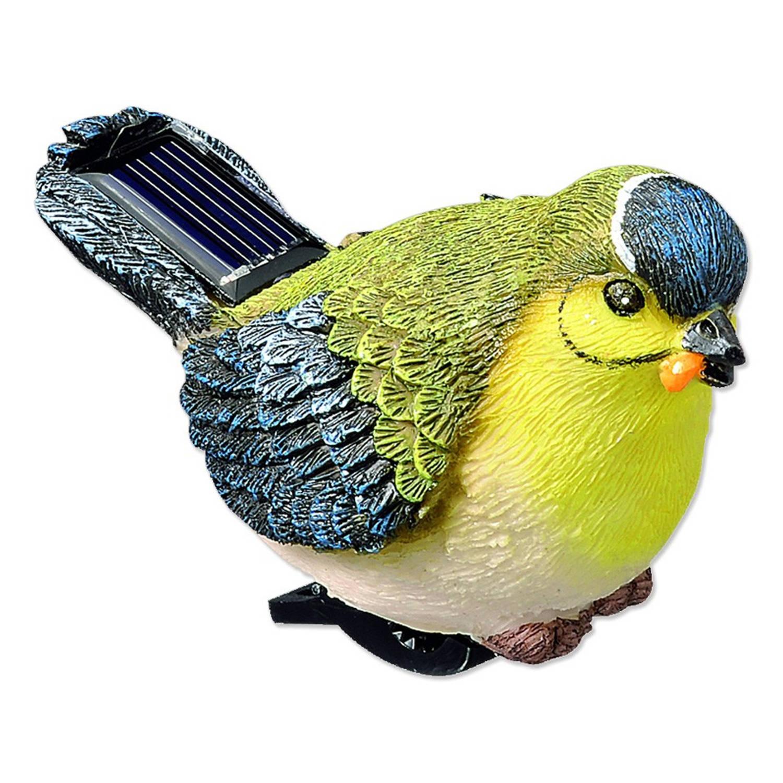 Solarlamp vogel met klem | Blokker