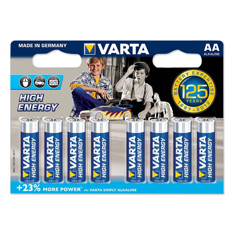 Varta High Energy AA-batterijen