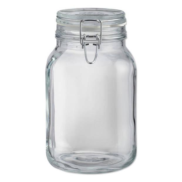 Inmaakpot met klemdeksel 2 liter