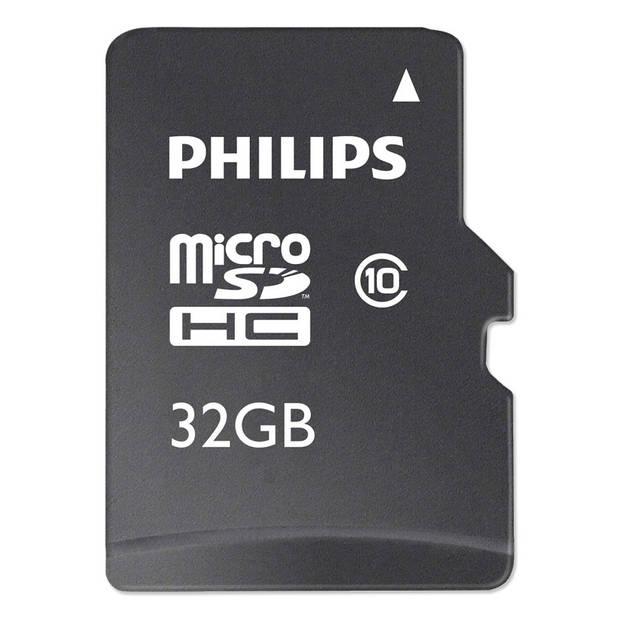 Philips 32 GB MicroSD-kaart met adapter