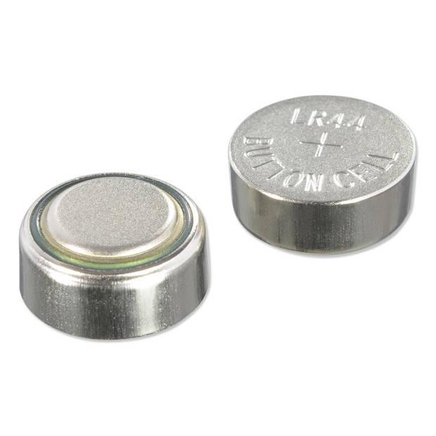 Knoopcelbatterijen LR44 6 stuks