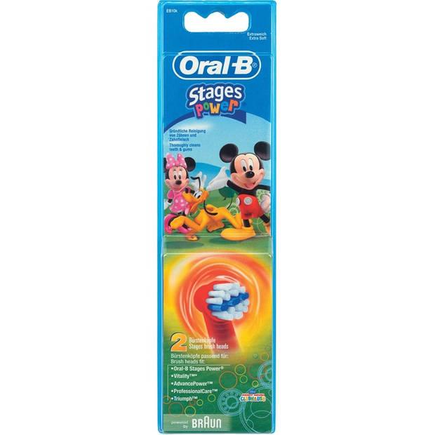 Oral-B Vitality Kids opzetborstels - set van 2 - assorti