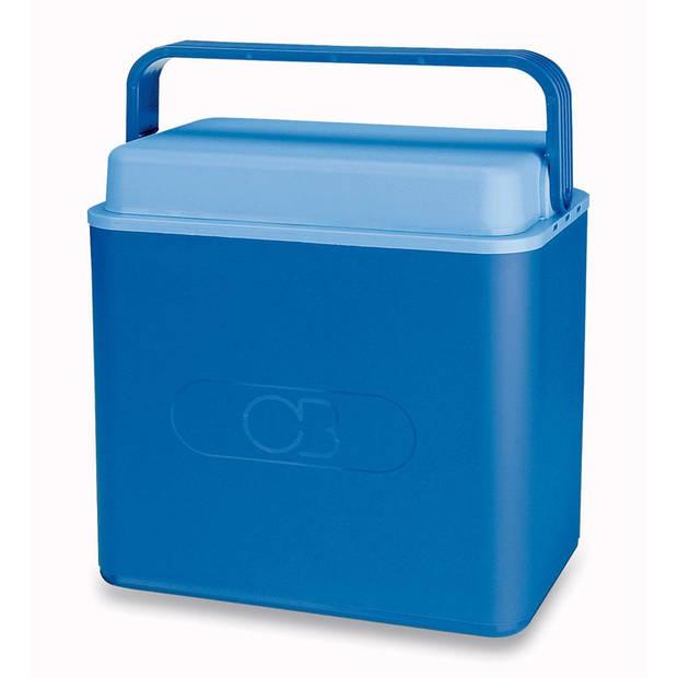 Koelbox 26 liter blauw
