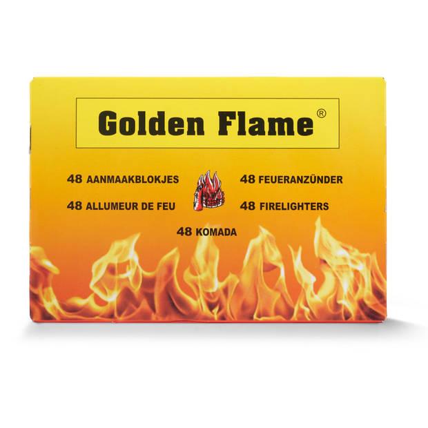 Golden Flame Aanmaakblokjes wit, 32 stuks