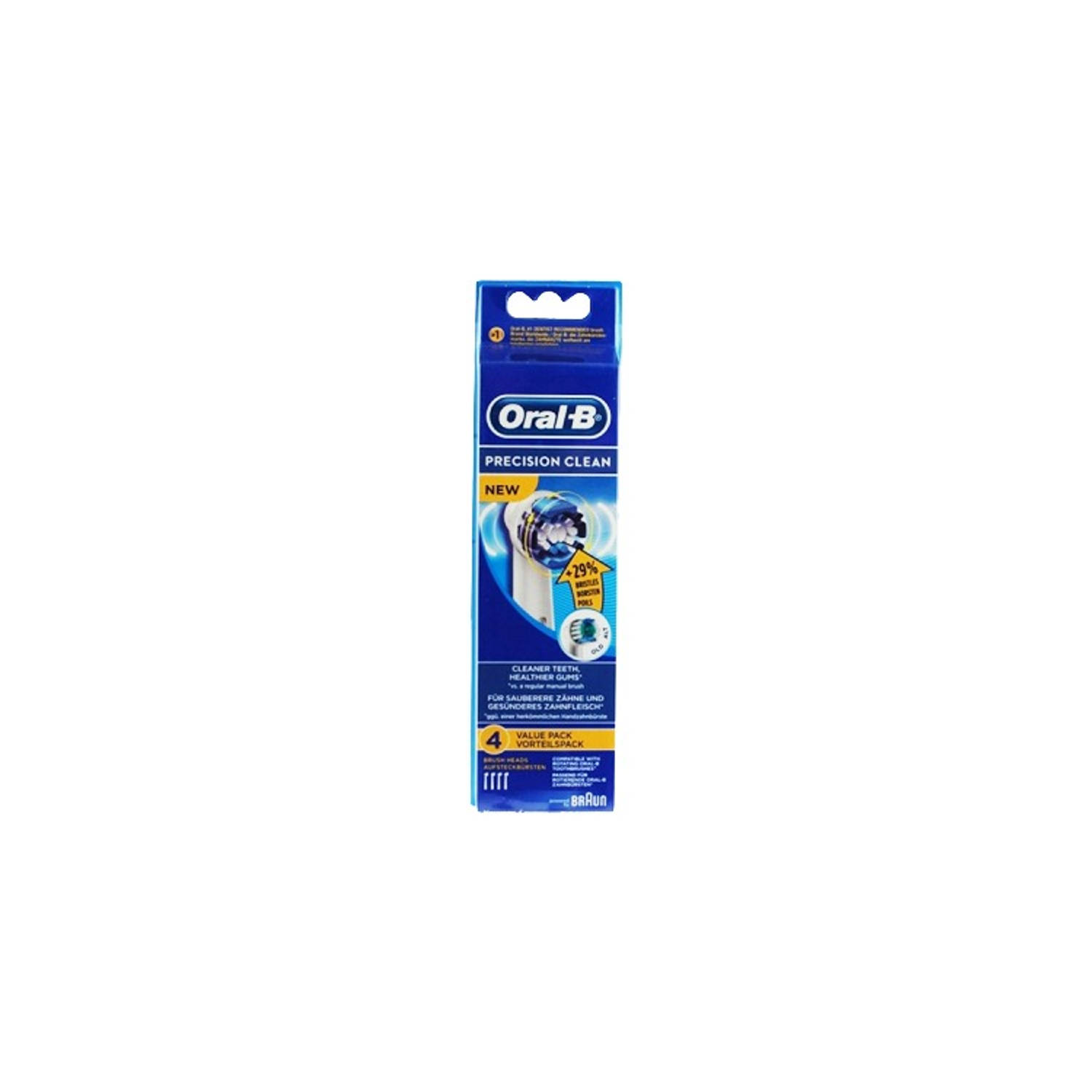 Oral-B Precision Clean opzetborstels - set van 4